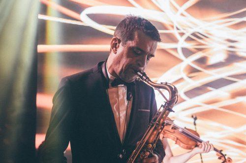 Saxophone Paris Groove orchestre mariage