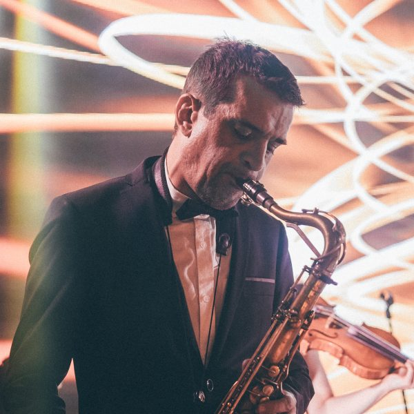 Saxophone Paris Groove orchestre de mariage