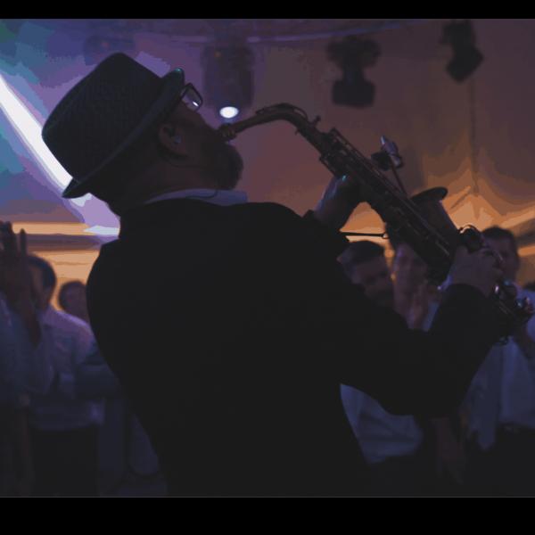 Saxophone paris groove orchestre mariage bar mitzvah dj live