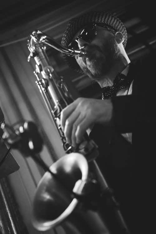 saxophone orchestre mariage