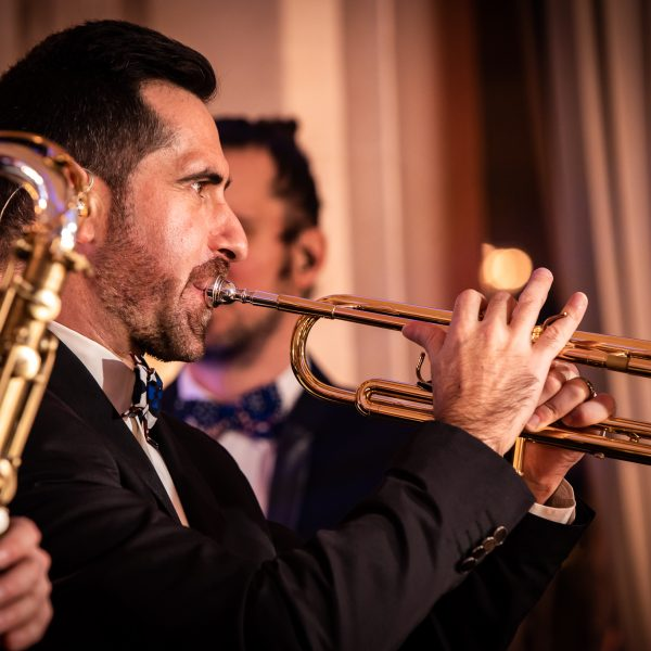 trompettiste orchestre mariage paris groove