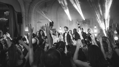 équipe de musiciens et chanteurs pour mariage juif